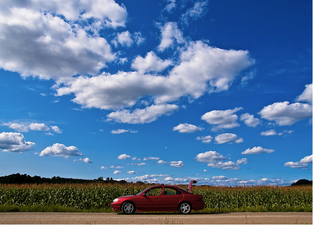 Cars and Cloud Servers