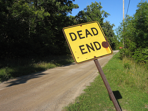 Dead end to private cloud