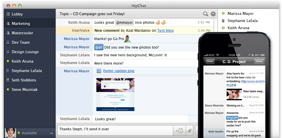 HipChat-Screen-Shot-and-Flexiant