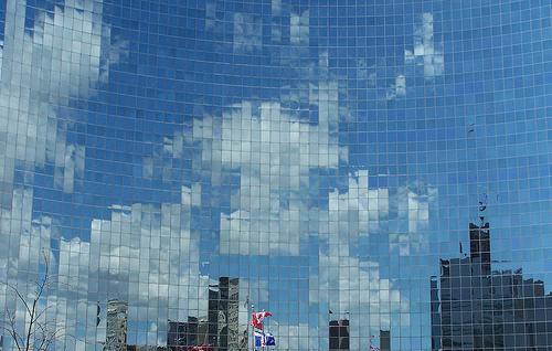 Pixelated Cloud
