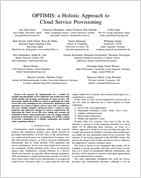 Holistic Approach to Cloud Service Provisioning
