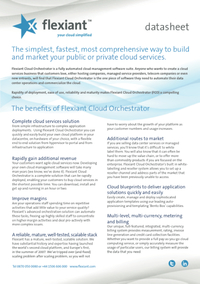 Flexiant V4 Data Sheet