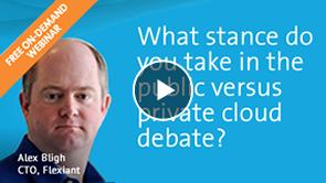 Public v Private Cloud debate