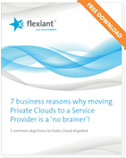why moving Private Clouds to Service Providers is a 'no brainer'