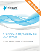 A Hosting Company's Journey into Cloud Services